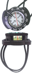 Dive Team Compass on Bungee Wrist Mount