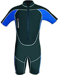 Mares Mens/Boys Front Entry Tritone 2.2mm Shorty Wetsuit - Size 1, XSmall