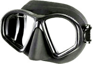 Falcon Super Low Profile Black Silicone Mask