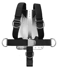 Apeks Deluxe One-Piece Webbed Harness Back Plate NOT Included