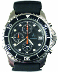 Apeks Chronograph Watch With Polyurethane Strap
