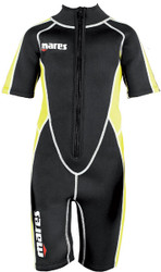 Mares Aquazone Scout Junior 2.2mm Shorty Wetsuit. Size S1, Age 6 - 7