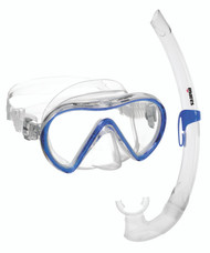 Mares Aquazone Vento Silicone Mask & Snorkel Set. Colour Choice.