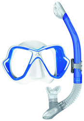 White/Blue Trim, Blue Snorkel