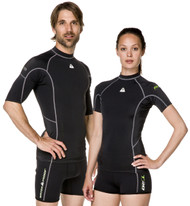 Waterproof Mens Short Sleeve Rash Guard. Size Choice