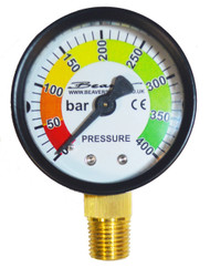 Airgun Charging Adaptor Pressure Gauge
