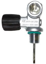 Beaver 300 Bar X-Flow Cylinder Valve M25X2 EN-144-1