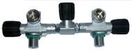 """Beaver 232 Bar Twin 5.5"""" Cylinder Manifold M26 Thread M25x2 EN144-1"""