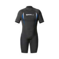 Mares Manta Mens Shorty in Black/Blue- Size Choice