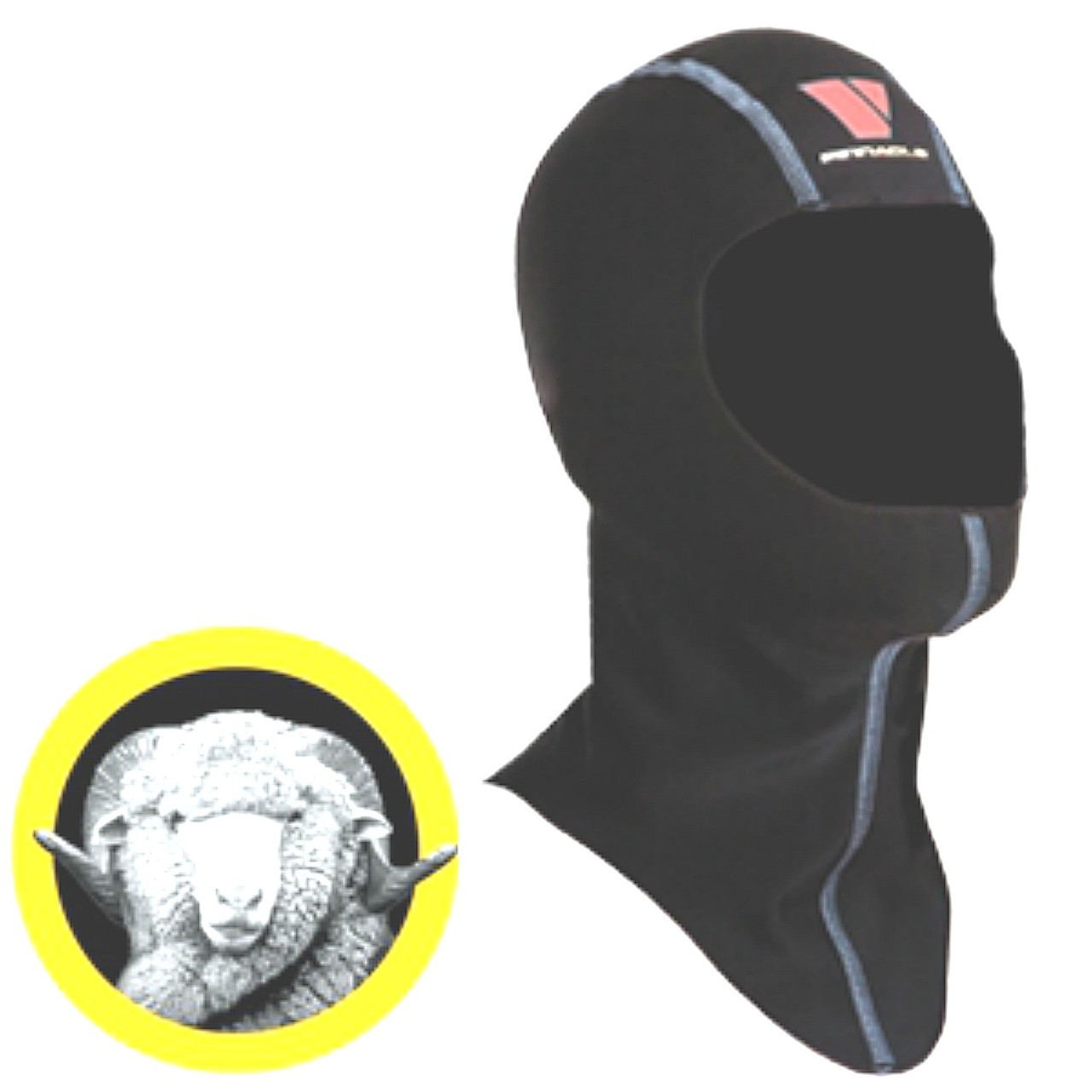 Pinnacle 7mm Merino Zippered Drysuit Hood Size Choice