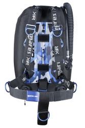 Mares Blue Battle Single Backmount set - XR