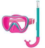 Aqua , pink - clear lens