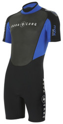 Aqua Lung Mens Mahe 3mm Shorty Wetsuit - Size Choice