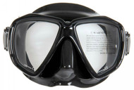 Northern Diver Military Black Silicone Dual Lens Mask