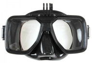 Northern Diver Black Silicone Pro Vision Mask With Go Pro Mount