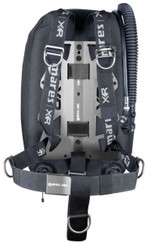 Mares Silver Night Single Backmount Set - XR Line
