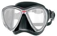 Hollis M3 Dual Lens Black Mask with Detachable Go-Pro Mount