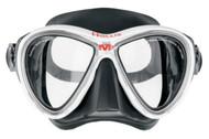 Hollis M3 Dual Lens Black/White Mask with Detachable Go-Pro Mount