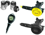 Mares Rover 15X Octo Mission 1 Regulator Set - Choice of DIN or A-Clamp
