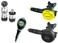 Mares Rover 2S Octo Mission 1 Regulator Set - Choice of DIN or A-Clamp