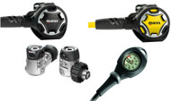 Mares Dual 15X Octo Mission 1 Regulator Set - Choice of DIN or A-Clamp