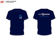 SSI Blue Oceans Conservation Unisex Short Sleeve T Shirt  - Size Choice