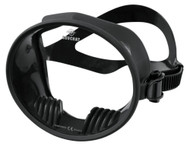 Beuchat Traditional Style Super Compensator Black Silicone Diving Mask