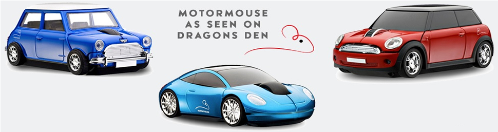 Motormouse Car Mouse as featured on Dragons Den