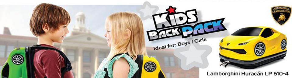 Kids School Car Rucksack Backpack