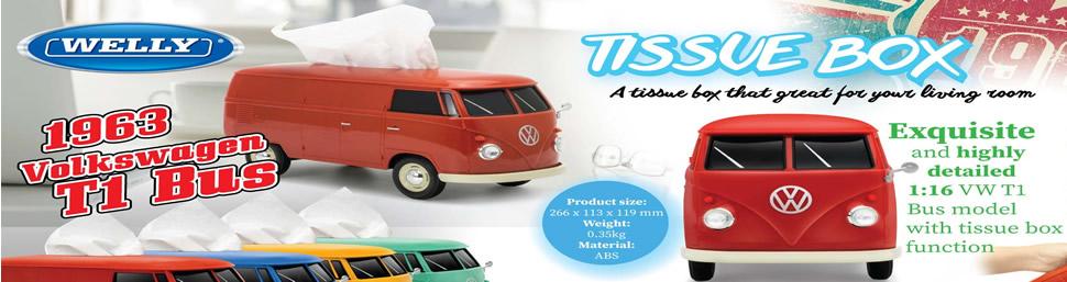 VW Camper Van Tissue Box Holder