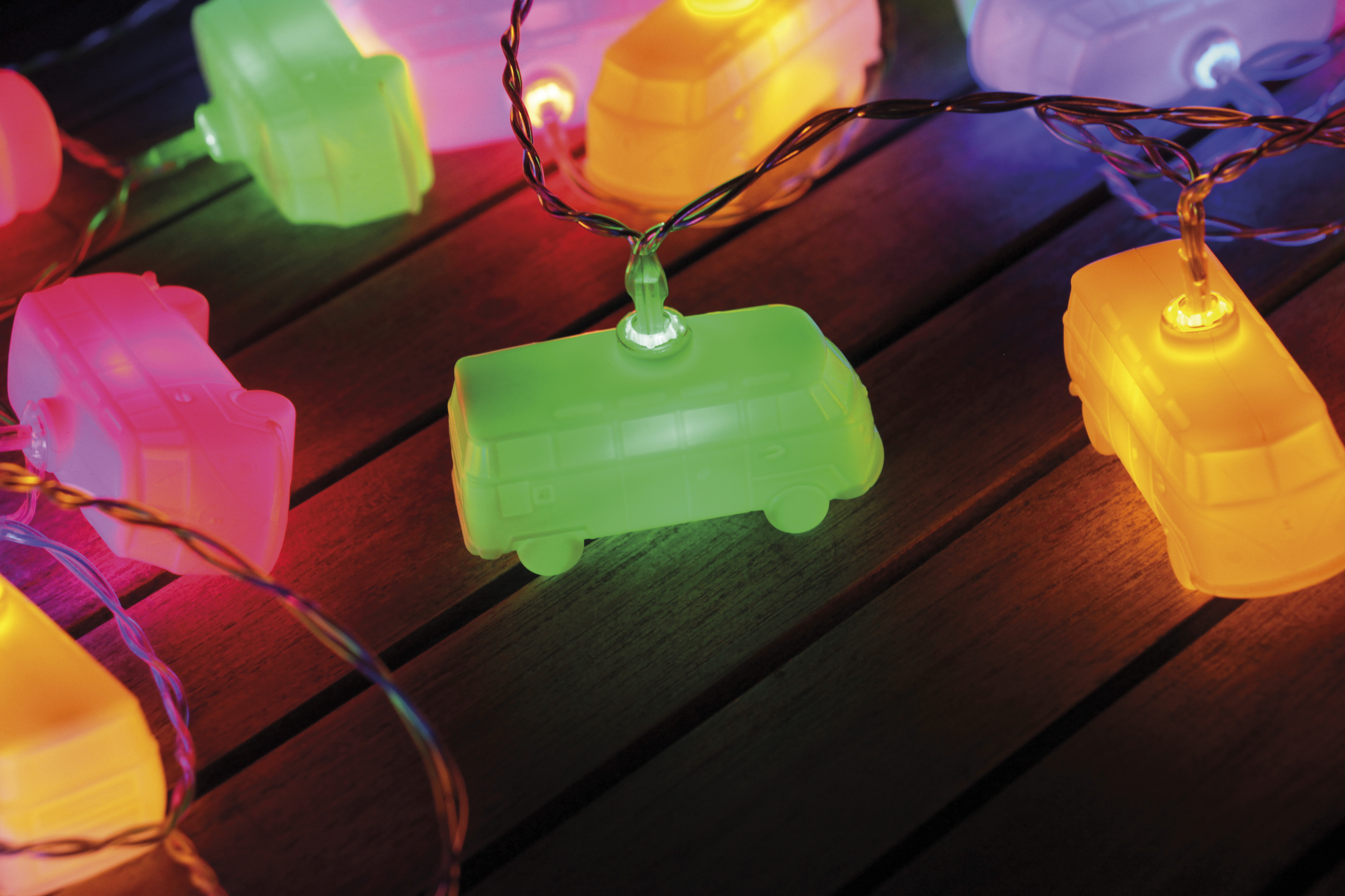 New Product In Stock Vw Camper Van Led Christmas Lights