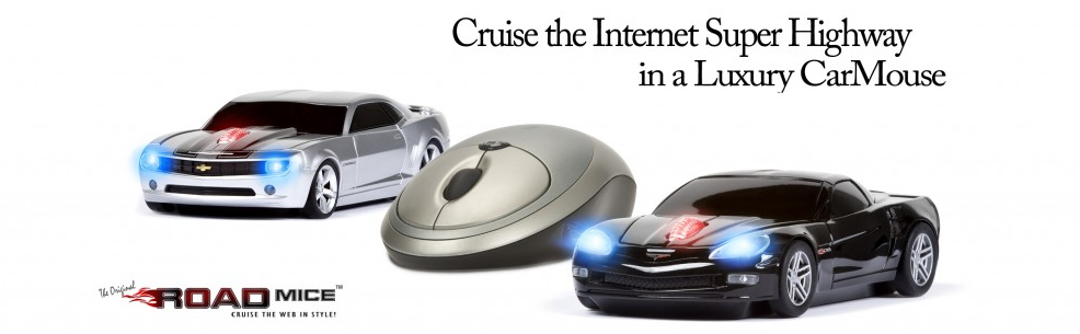 Cruise the Internet in A Road Mice Car Mouse