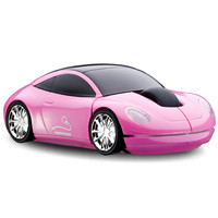 Official MotorMouse Classic Sports Car Wireless Computer Mouse - Pink