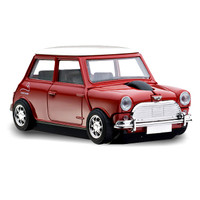 Official Motormouse Classic Mini Cooper Car Wireless Computer Mouse - Red