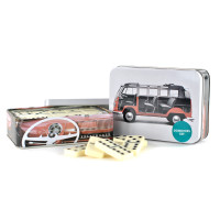 Official VW Camper Van Traditional Dominoes Game Set - in metal gift tin