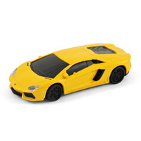 Lamborghini Aventador Sports Car USB Memory Stick 8Gb - Yellow