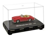 Official Mercedes Benz 190SL Car 4-Port USB Computer Hub - Red