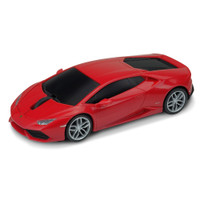 Official Lamborghini Huracan Car Wireless Laser Computer Mouse - Red