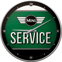 Official Classic Mini Car Large Wall Clock in gift box - speedo style