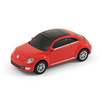 VW Beetle 'New Shape' Car Computer USB Memory Stick 8Gb - Red