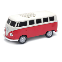 Official VW Camper Van Bluetooth Wireless Music Speaker - Red