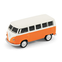 VW Camper Van Computer USB Memory Stick 16Gb - Orange