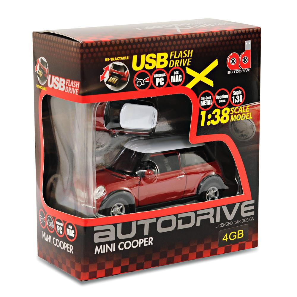 Bmw Mini Cooper S Car Gift Box Set 138 Model Car 4gb Usb Flash