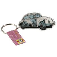 Haynes Volkswagen VW Beetle Car Metal Keyring