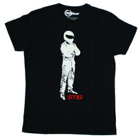 Official Top Gear 'The Stig' Mens T-Shirt - Black