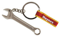 Haynes Car Mechanic Tools Spanner Metal Keyring