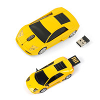Official Lamborghini Murceilago Wireless Mouse + USB 4Gb Memory Stick Gift Set