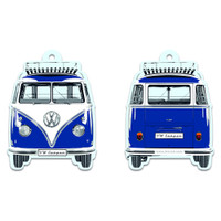 Official VW Camper Van T1 Air Freshener - Blue Ocean