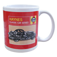 Official Haynes Jaguar E-Type Car Ceramic Mug / Cup