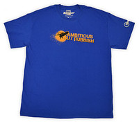 Official Top Gear Ambitious But Rubbish Mens T-shirt - Blue